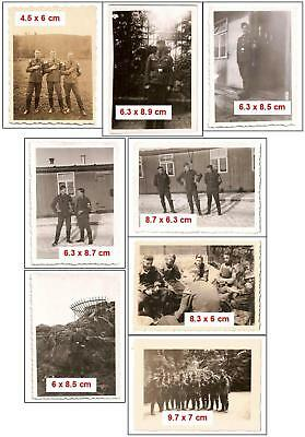 Lot de 8 photos RAD propagande soldats allemands WW2 militaria