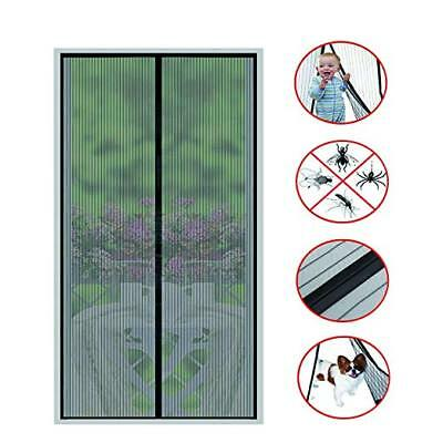 Magnetic Screen Door (2018 New)-26 Strong Magnets-Full Frame Magic Adhesive