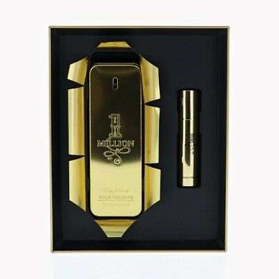 PACO RABANNE 1 MILLION 2 PIECE GIFT SET - 3.4 OZ EAU DE TOILETTE NEW for MEN
