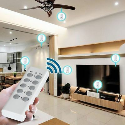 Wireless Remote Control Sockets Household Electrical Plug-in Outlet Switch