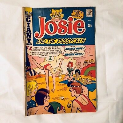 Archie Giant Series #56 Josie and the Pussycats