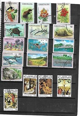 Grenada. 1976. Selection Of 18..  Fine Used. As Per Scan