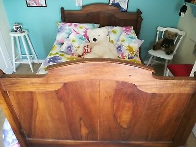 1910-1920 Wooden French Boat Bed