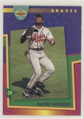 1993 Upper Deck Fun Pack 67 Deion Sanders Atlanta Braves Baseball Card