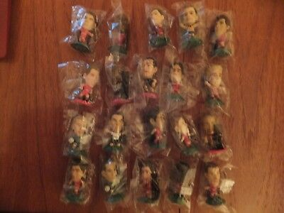 20 Liverpool corinthian microstars all brand new in sealed bags. Some away strip