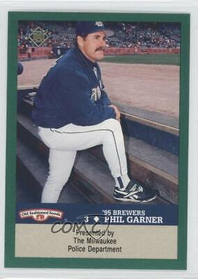 1993 Milwaukee Brewers Police Mosinee Phga Phil Garner