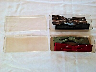Lot of Four Vintage Bow Ties