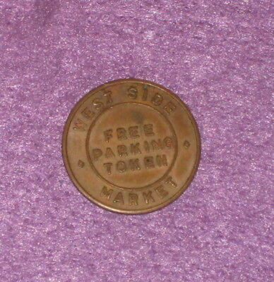 City Of Cleveland Ohio West Side Market Parking Token Coin
