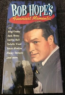 Bob Hope's Funniest Funnies Moments, New Sealed VHS