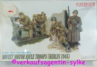 430: Dragon Modellbausatz-Figuren SOVIET MOTOR RIFLE TROOPS Berlin 1945 1:35 NEU