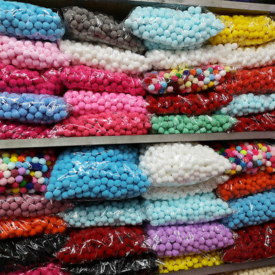 Felt Ball Hand Crafted Collectible 500-100pcs multicolor wool pom pom gift Decor