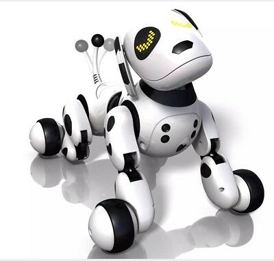Zoomer Dalmation Interactive Robot Pet Dog Puppy Spinmaster