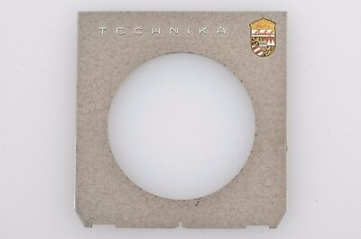 "Exc+++ Genuine Linhof Technika Gray ""crackle"" Lens Board For Copal #3"
