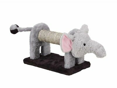 griffoir animaux Eléphant pour chat balle clochette au bout de la queue