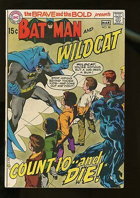 Brave And The Bold #88 Very Good+ 4.5 Batman / Wildcat 1970 Dc Comics