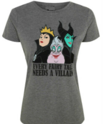 Disney Villains - Ursula, Maleficent and The Evil Queen - Ladies t shirts
