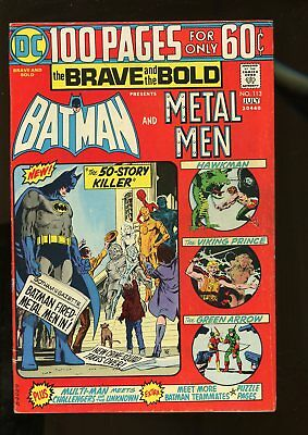 Brave And The Bold #113 Very Good 4.0 Batman / Metal Men / 100 Pages 1974 Dc
