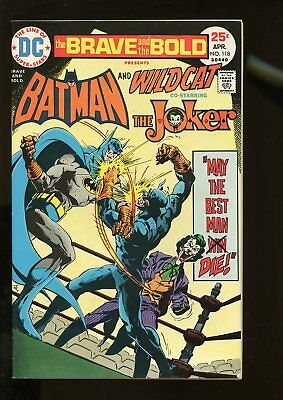 Brave And The Bold #118 Fine+ 6.5 Batman / Joker 1975 Dc Comics
