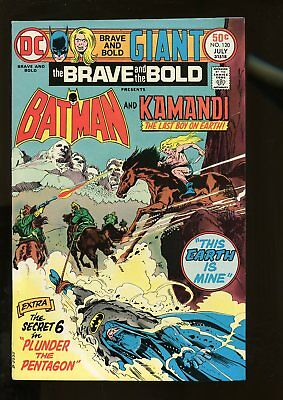 Brave And The Bold #120 Very Fine 8.0 Batman / Kamandi 1975 Dc Comics