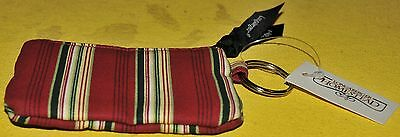 Longaberger Coin purse Holiday Stripe Stripes new with tags sisters Homestead