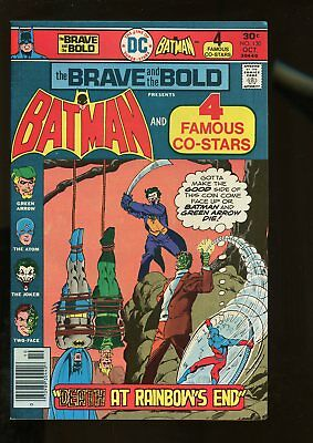 Brave And The Bold #130 Fine+ 6.5 Batman / Green Arrow / Joker 1976 Dc Comics
