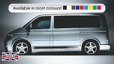Side stripes to fit VW Transporter T4 T5 T6 HIGH OEM QUALITY Fits all models