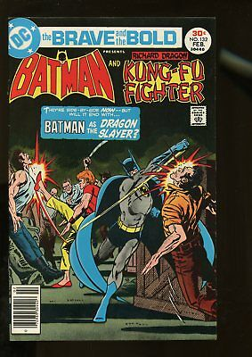 Brave And The Bold #132 Fine+ 6.5 Batman / Richard Dragon Kung-Fu Fighter 1977