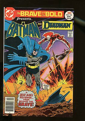 Brave And The Bold #133 Fine+ 6.5 Batman / Deadman 1977 Dc Comics