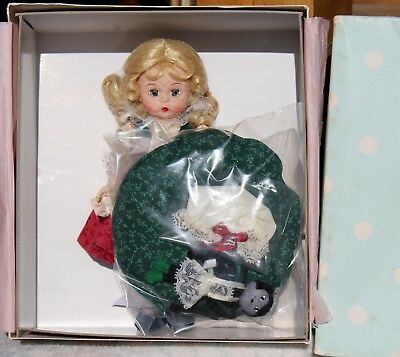 "MADAME ALEXANDER 8"" LITTLE MISS MUFFET with TUFFET DOLL #38790 NEW in TLC BOX"