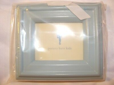 """NWT Pottery Barn Kids Baby Blue Picture Gift Frame 5"""" w x 4.5"""" l"""