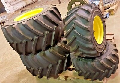 John Deere 4100 Compact Tractor Galaxy Agricultural Tread Flotation Rims & Tyres
