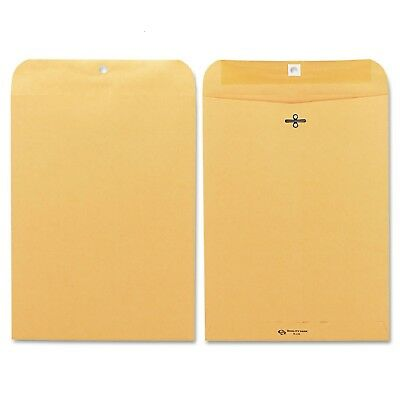 Quality Park  Clasp Envelope 9 x 12 Brown Kraft  100 Box