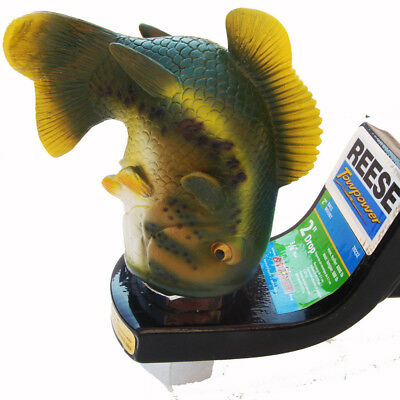 New Largemouth Bass Fish RV/Truck/SUV Boat Trailer Hitch Ball Cover Fishing Gift