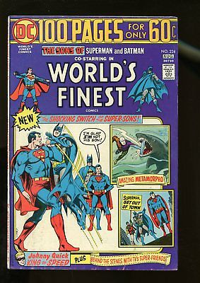 World's Finest Comics #224 Fine- 5.5 100 Pages 1974 Dc Comics