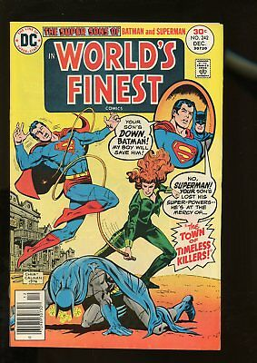 World's Finest Comics #242 Fine+ 6.5 1976 Dc Comics