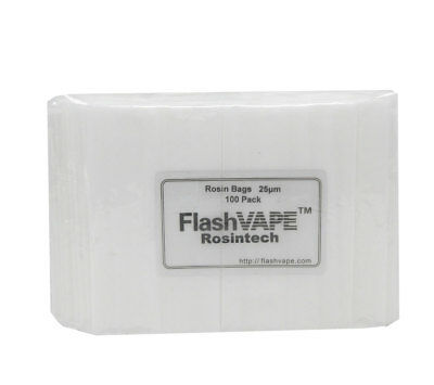 FV ROSINTECH  Hand Made Seamless Rosin Filter Bags ~ 25u for concentrates (100x)