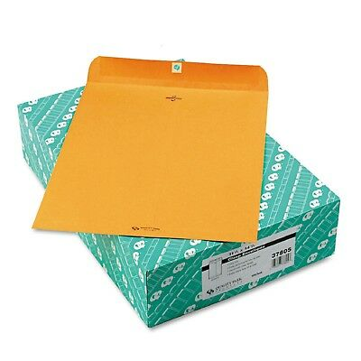 Quality Park  Clasp Envelope 11 1 2  x 14 ½ Brown Kraft  100 Box
