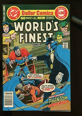 World's Finest Comics #249 Very Fine 8.0 80 Pages 1978 Dc Comics