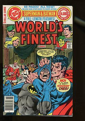 World's Finest Comics #253 Fine+ 6.5 68 Pages 1978 Dc Comics