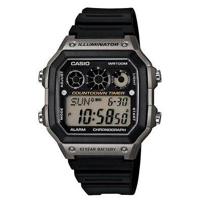 Casio AE1300WH-8A Men's Youth Digital Dial Alarm Chronograph Watch