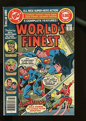World's Finest Comics #263 Very Fine / Near Mint 9.0 Giant-Size 1980 Dc Comics