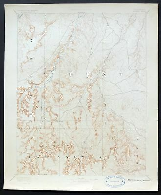 1893 Higbee Colorado La Junta Rare Antique Original USGS Reconnaissance Topo Map
