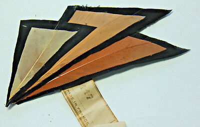 NOS vintage 1920s millinery hat feather fancy trim, 3117 made in France deco