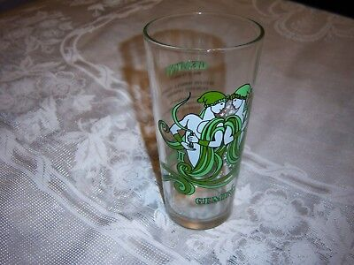 Vintage 1976 Arby's Zodiac Drinking Glass Tumbler Gemini Twins Great Condition