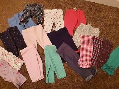 0-3 Month Girls Legging Bundle