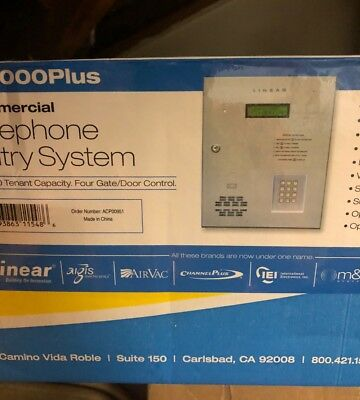 Door Access System Linear AE-1000Plus Telephone Entry Panel New open Box