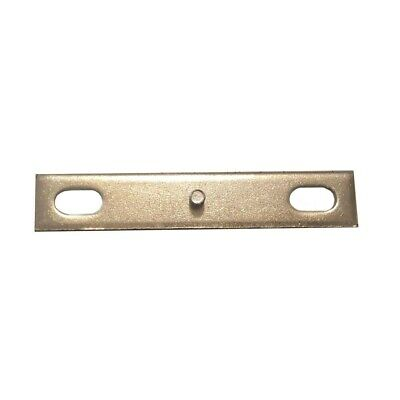 IKEA Mounting Bracket with Threaded Pin Replacement Part 124150 Metal Plate Oval