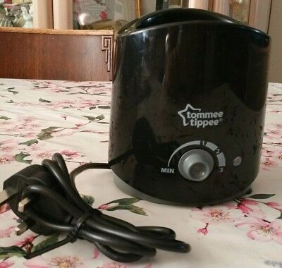 Tommee Tippee black bottle/food/jar warmer bn