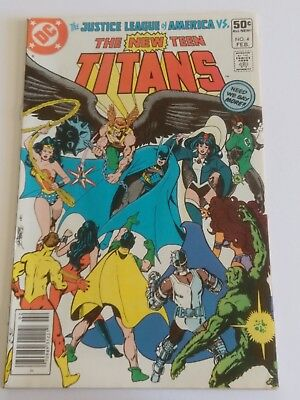 New Teen Titans Lot Of 5 Dc Comics 4, 5, 7, 19, Annual 1