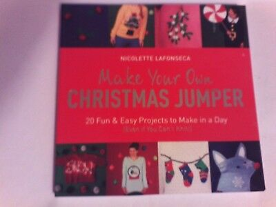 Make Your Own Christmas Jumper Book. No Knit/ Easy To Make. Christmas/ Craft